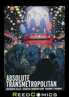 ABSOLUTE TRANSMETROPOLITAN VOLUME 3 HARDCOVER New Hardback Collect Issues #40-60