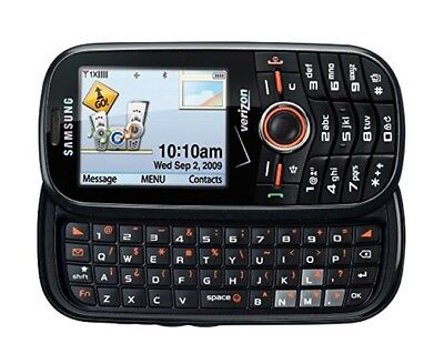 Verizon Intensity Messaging SCHU450PP Pre-Paid Cell Phone Mobile Web