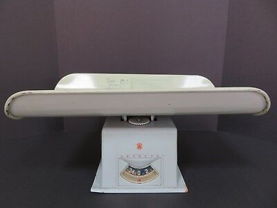 Vintage Detecto Green Baby Scale, Height/weight Bar Graph Chart For Boy & Girl