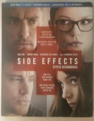 Side Effects (Blu-ray/DVD, 2013, Canadian) Brand New
