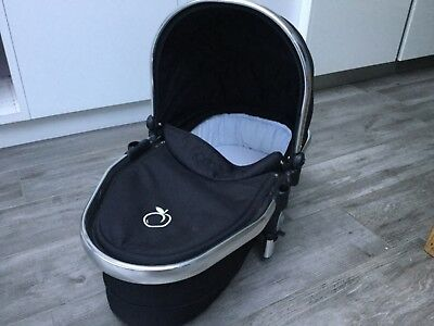 iCandy Peach Lower Carrycot, Jet Black