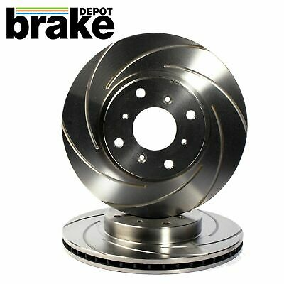 Audi Coupe 89 2.0 16v Front Drilled Brake Discs 92-96