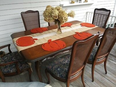 White Furniture Co. French Provincial Dining Table