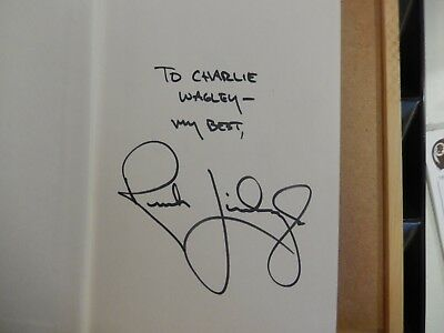 """Rare/Unique 1993 Rush Limbaugh Signed Book """"See, I Told You So""""-First Edition."""