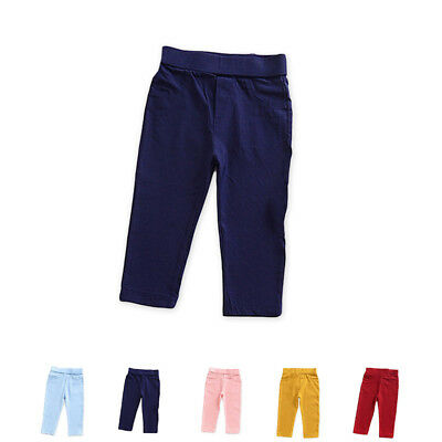 Kids Baby Boy Girl Harem Pants Toddler Hip Hop Trousers Bottoms Long Pant 2~6Y