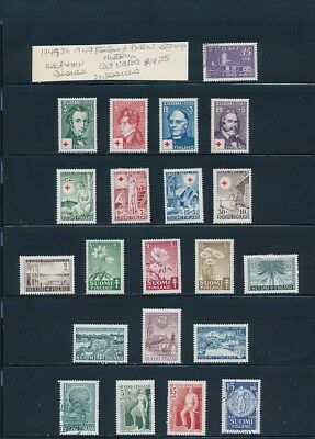 Own Part Of Finland Stamp History 21 Issues Cat $19.75  Shown