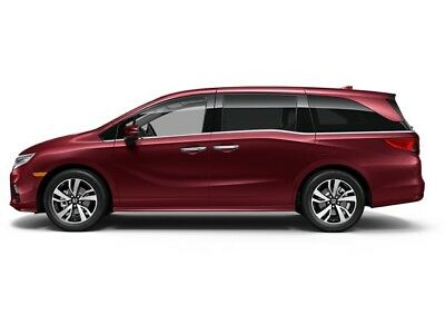 2019 Honda Odyssey Elite Automatic Elite Automatic New 4 dr Van Automatic Gasoline 3.5L V6 Cyl Deep Scarlet Pearl