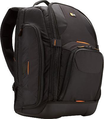 SLRC 206 SLR Camera and 15.4 Inch Laptop Backpack Black