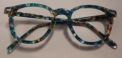 Vintage May Optical Co. Classic 50's Shape Color 1 46/22 Eyeglass Frame NOS