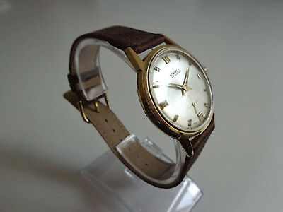 Herrenuhr * ROAMER * Swiss Made 60er/60s Handaufzug mechanisch Herrenarmbanduhr