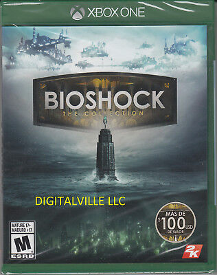 BioShock The Collection Xbox One Brand New Sealed 1, 2 and Infinite Remastered