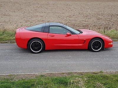Corvette C5 1998 auto, Unmarked Torch red, fabulous condition <64k miles