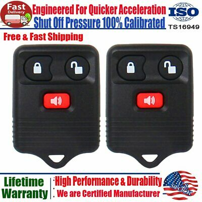 2 Keyless Entry Remote Control Key Fob Clicker Transmitter For F-150 F-250 F-350