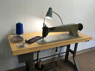Cornely A2 Chain Stitch Long Arm Embroidery Machine Larger than Singer 114w103