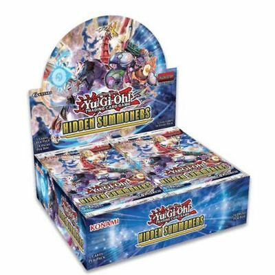 Yugioh 1ST EDITION HIDDEN SUMMONERS FACTORY SEALED BOOSTER BOX 24 Packs ENGLISH