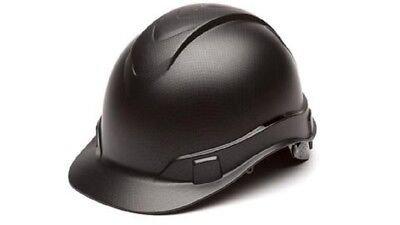 Pyramex Graphite Ridgeline 4pt Ratchet Suspension Construction Hard Hats HP44117
