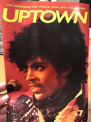 PRINCE - UPTOWN MAGAZINE #7 - The Leading Magazine for Prince Fans & Collectors