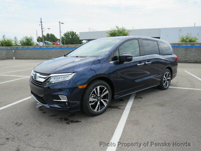 2019 Honda Odyssey Elite Automatic Elite Automatic New 4 dr Van Automatic Gasoline 3.5L V6 Cyl Obsidian Blue Pearl