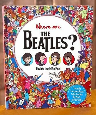 1 New Find The Beatles Book For Adults