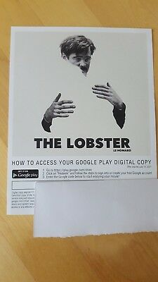 The Lobster Digital Code (no disc) CANADA ONLY