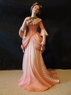 """I.P.A. Figurine """"Lady with Fan""""  Limited Edition - Excellant condition"""