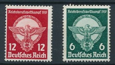 [123701] Germany 1939 good set of stamps very fine MNH $29
