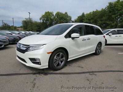 2019 Honda Odyssey Touring Automatic Touring Automatic New 4 dr Van Automatic Gasoline 3.5L V6 Cyl White Diamond Pear