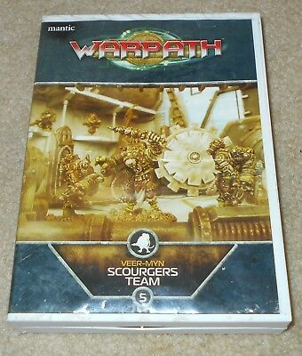 Warpath Veer-Myn Scourgers Team 5 25mm Miniatures by Mantic Combat Drill Laser!