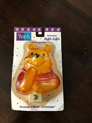Winnie the Pooh Automatic Sensor Night Light