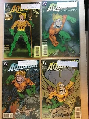 Aquaman Time and Tide (1993) #1-4 Complete Set  1993 VF/NM