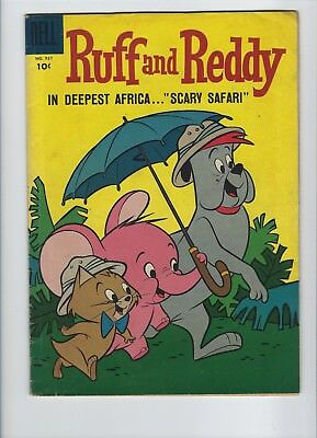 Four Color #937 Ruff And Reddy Key First Hanna Barbera Golden Age Comic Book