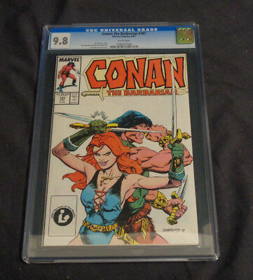 Conan #197 Marvel Comics Modern Age Cgc Graded 9.8 White Pages Red Sonja Rare