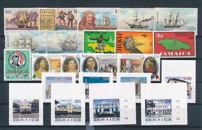 [G129232] Jamaica good lot of stamps very fine MNH