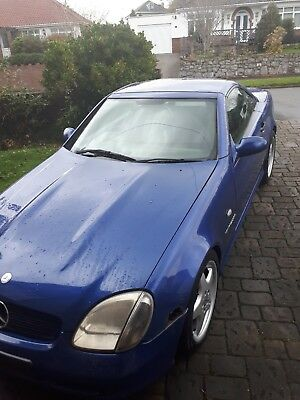 mercedes slk 230 amg project 1997 spares or repair