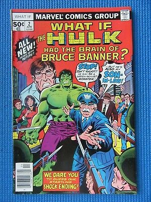 What If # 2 - (Vf/nm) -  What If Hulk Had The Brain Of Bruce Banner?