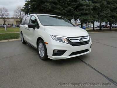 2019 Honda Odyssey LX Automatic LX Automatic New 4 dr Van Automatic Gasoline 3.5L V6 Cyl White Diamond Pearl