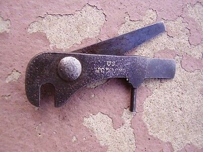 "ORIG. MODEL 1879 SPRINGFIELD TRAPDOOR COMBO TOOL marked ""US"" good condition"