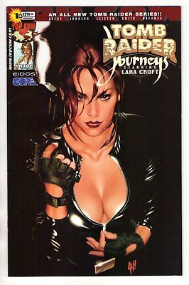 Tomb Raider Journeys #1 Adam Hughes Variant Cover 2001 Top Cow VF/NM 9.0