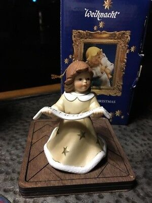 GERMAN  Goebel Angel Bell  Annual Christmas Tree Ornament 2003 Original Box