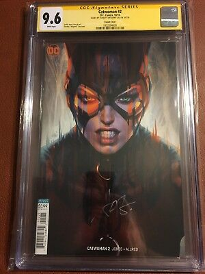 Catwoman #2 (2018) CGC SS 9.6 Signed By Staney Artgerm Lau Variant