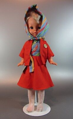 "Vintage Doll official Canadian Olympic Hostess Rare 1976 Montreal 15"" Regal Toy"