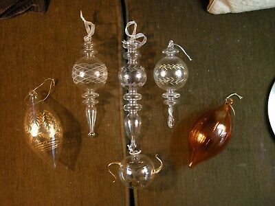 Beautiful Group of Egyptian Glass Ornaments