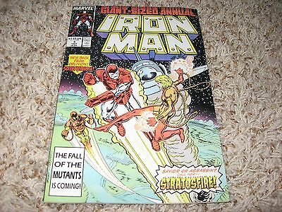 Iron Man Annual #9 (Marvel, 1987) – 1st appearance of Stratosfire – NM-