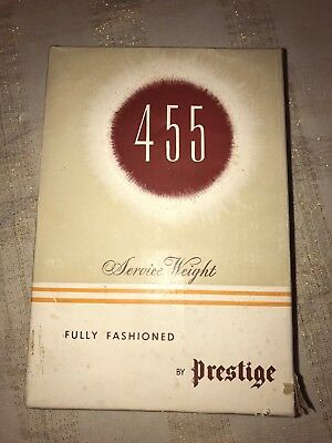 BOX ONLY Vintage Prestige Stockings