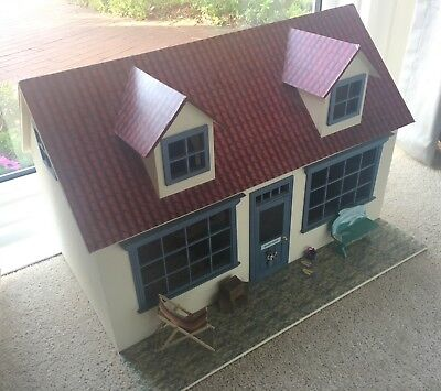 Dolls House Fully Furnished - Seaside Room Box - Perfect for Christmas!