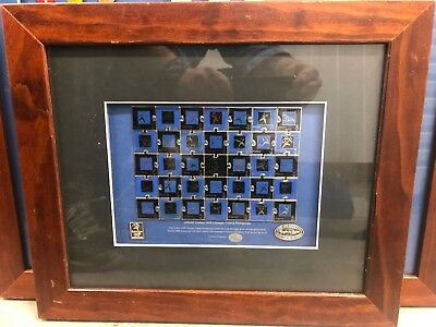 Sydney 2000 Olympic Games Pictograms Puzzle Framed Pin Set - No: 2770/ 5000