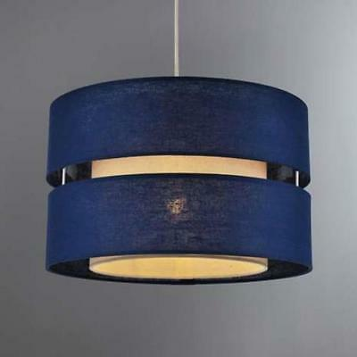 Blue Navy Ceiling Pendant Light Shade Home Modern Decorative Lighting Retro NEW