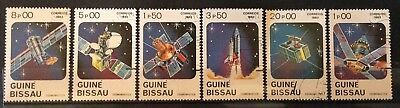 World Stamps Guine-Bissau 1983 Line 6 Stamps Cosmonautical Day CTO (B9-3)