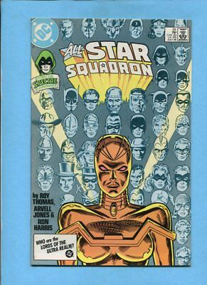 All-Star Squadron #59 Mekanique Spectre DC Comics July 1986 VF/NM
