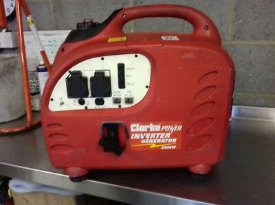 Clarke inverter  2200w Generator (spares or repair)